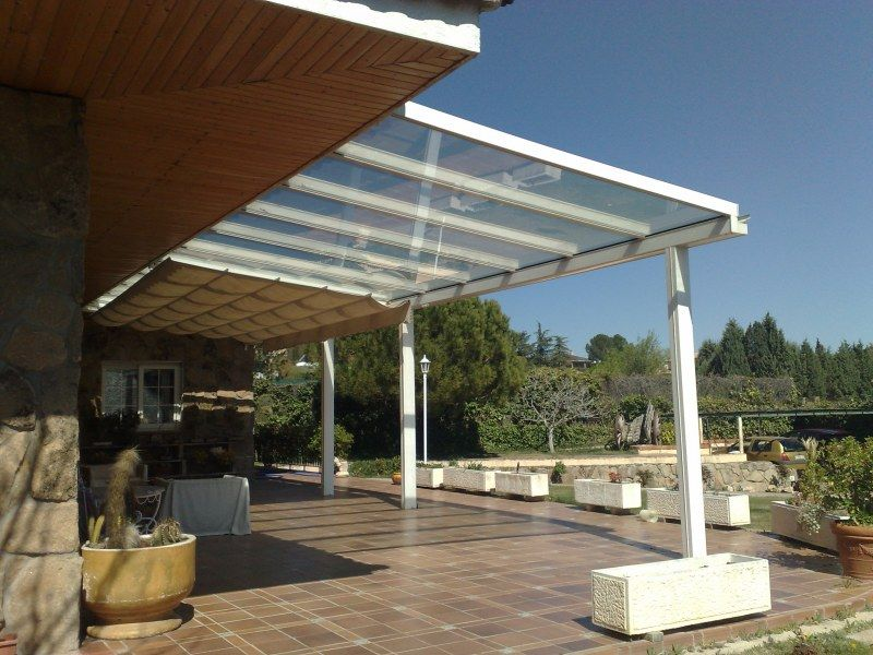Techos fijos acuglass decoraci n pinterest - Tipos de porches ...