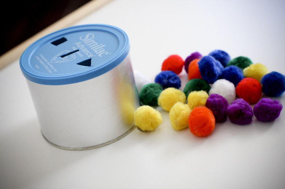 Home-made independent toddler/preschool activities