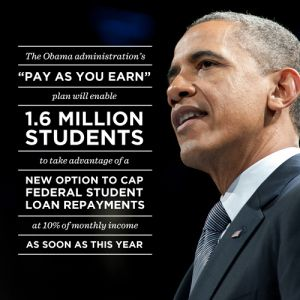 Why Pay As You Earn Program An Integral Part Of Obama Student Debt