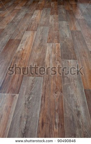 Linoleum floor covering imitation wood by moritorus via for Colourful lino flooring