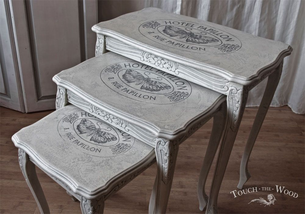 Details about PRINT TRANSFER to SHABBY CHIC FURNITURE water