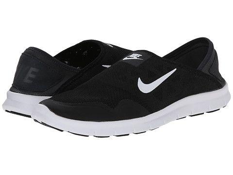 Nike orive lite slip on black white