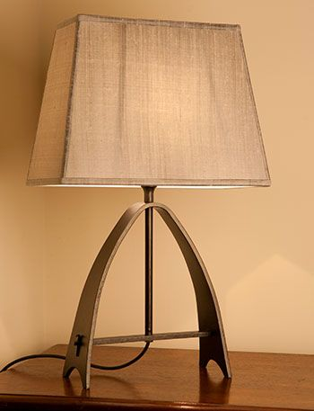 Whitby Wrought Iron Table Lamp Iron Table Table Lamp