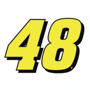 Jimmie Johnson #48 Car Magnet | nascar! | Nascar, Racing, Sports