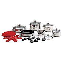 Lagostina Grande Cucina Cookware Set 24 Pc