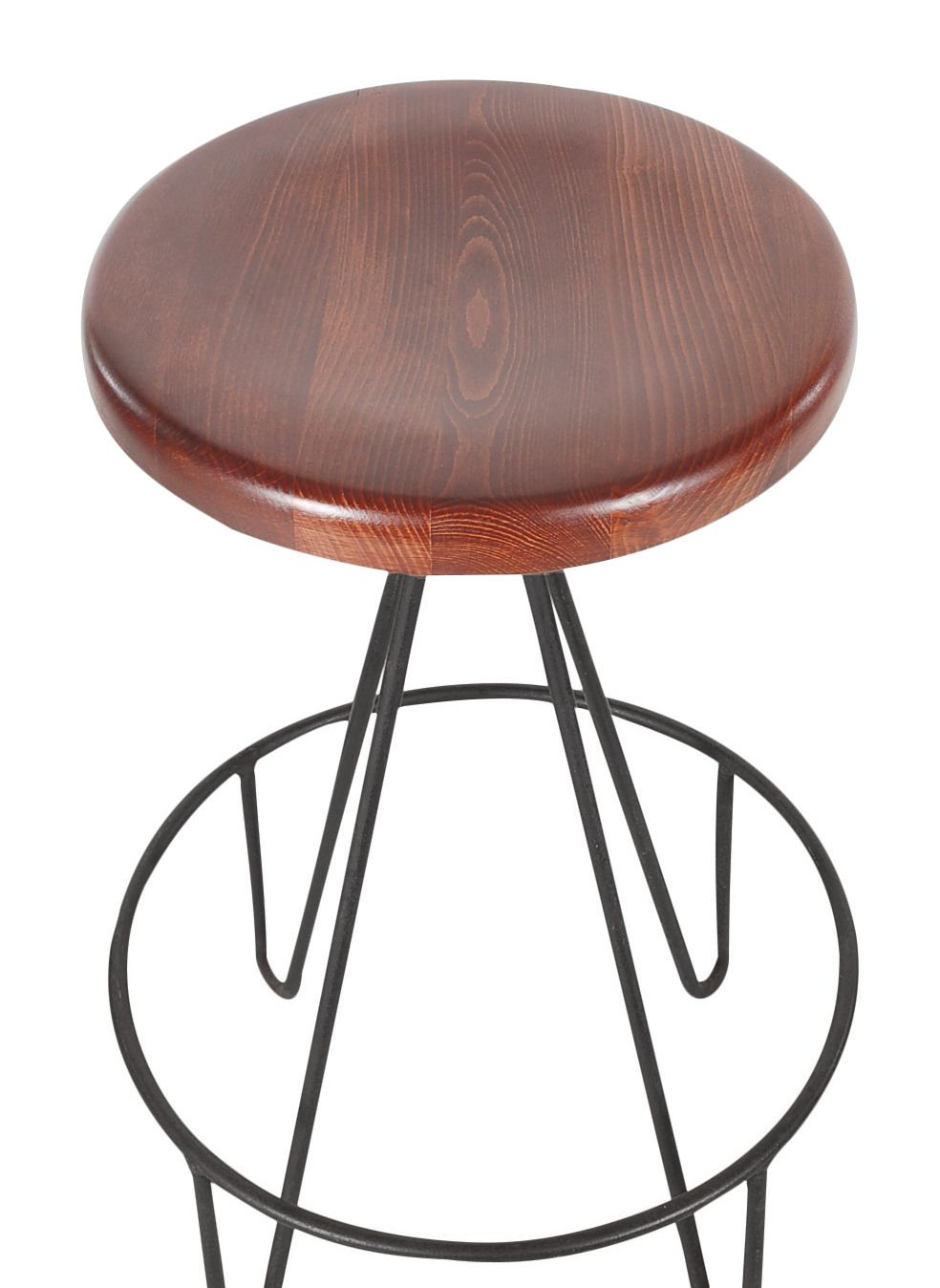 not sure if they are for the set or per stool..thinking per stool...Frederick Weinberg Iron Hairpin Leg Bar Stools | From a unique collection of antique and modern stools at https://www.1stdibs.com/furniture/seating/stools/