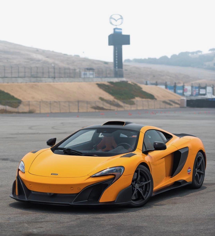 McLaren 675LT painted in McLaren Orange w/ Satin Carbon Fiber  Photo taken by: @jacob_schlobohm on Instagram