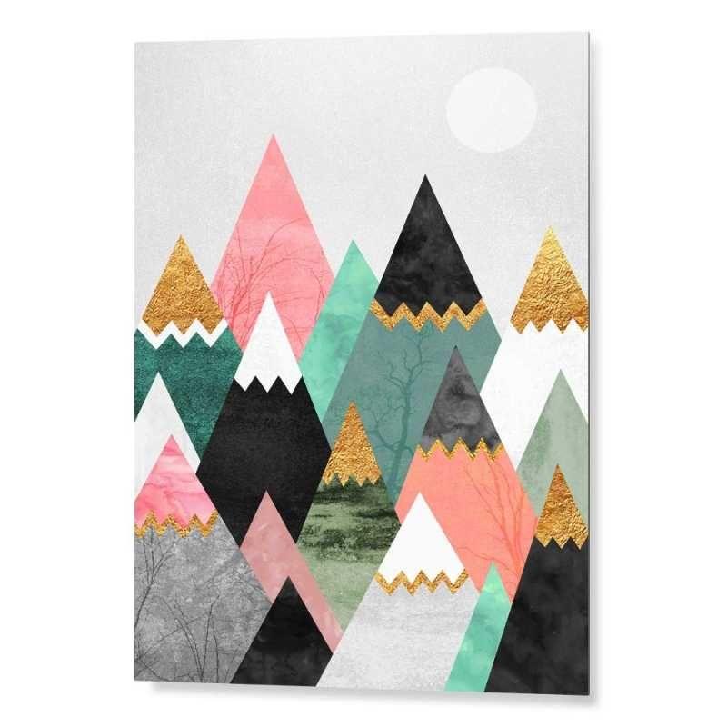 tableau montagne feng shui collection scandinave en 2019 sur le site art imprimable. Black Bedroom Furniture Sets. Home Design Ideas
