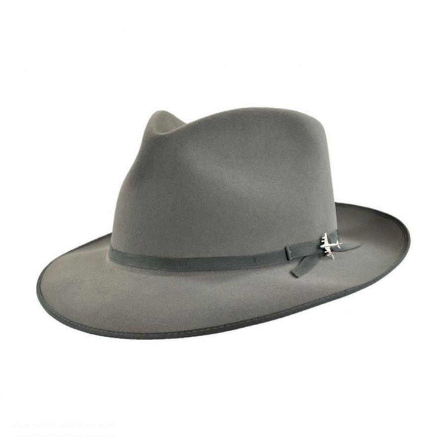 86e91528dae52 Stratoliner Fur Felt Fedora Hat in 2019