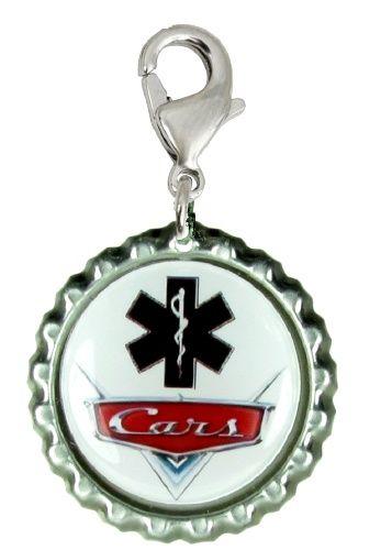 Car Grill Medical ID for Boys Black