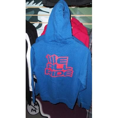 (1) Sweater Chaqueta We All Ride Unisex Azul Talla M - BsF 4.000 41dc3254737