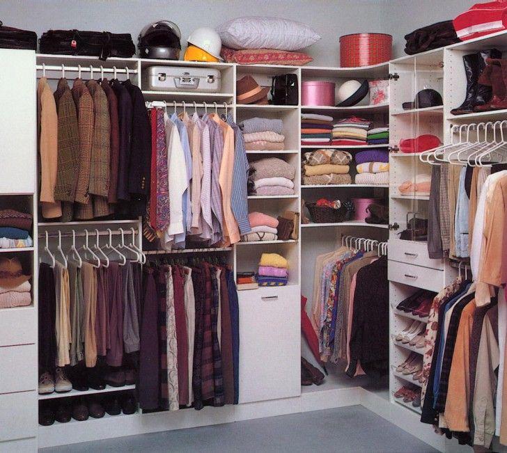 Use Every Corner Of A Small Closet   Small Closet Organization   Tips And  Tricks For Closet Success