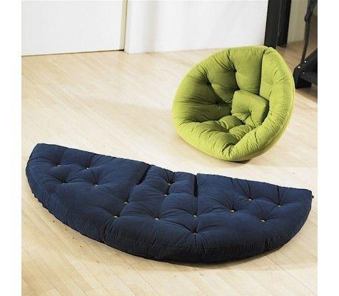 fauteuil pouf poire futon …
