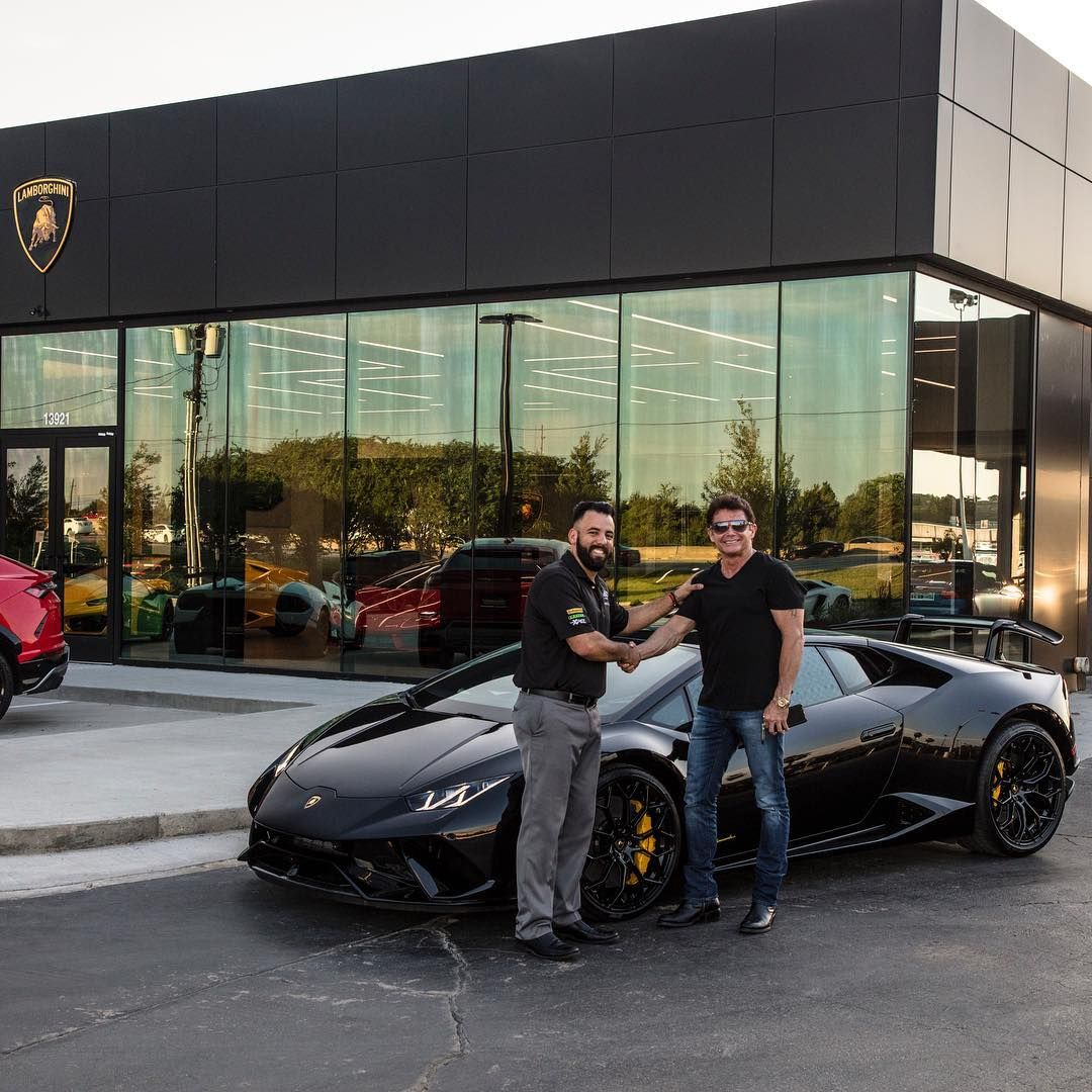 Lamborghini Houston Lambohouston No Instagram Congrats To M R On Being Our First Customer Delivery Out Of Our New Facili Lamborghini Super Cars Enjoyment