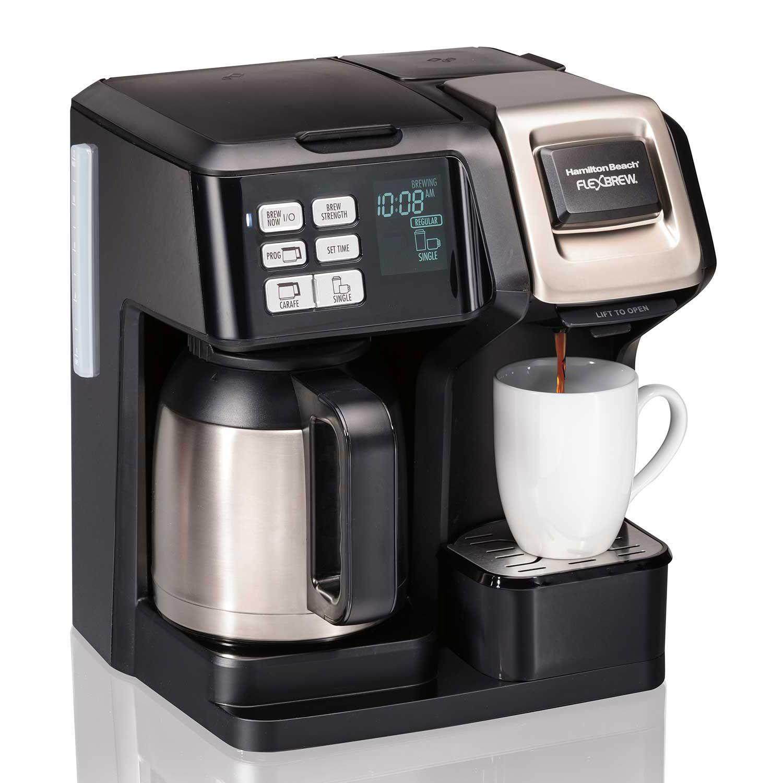 Hamilton Beach FlexBrew® 2Way Coffee Maker with 10Cup