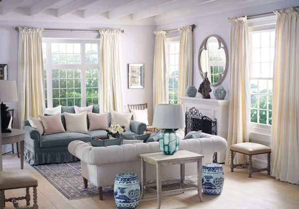 Une chambre de style anglais peut vous transporter dans un for Salle de sejour moderne