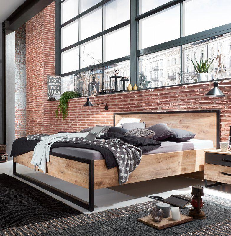 Futonbett Detroit in 2020 | Futonbett, Bett metall und ...