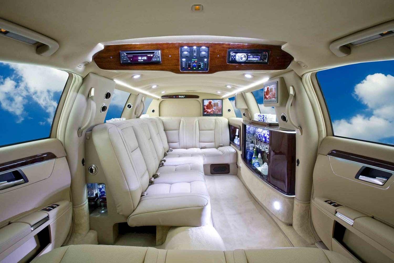 Mercedes S550 Limousine Shown With 100 Interior Conversion