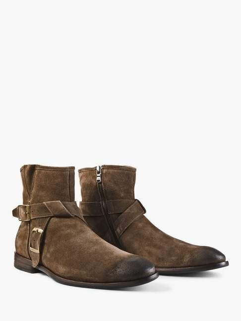 8e0f7162512d John Varvatos Nyc Double Buckle Boot Mens Boots Fashion