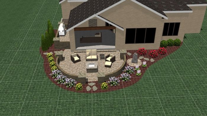 RS Unlimited Landscaping Inc - 3D Hardscape and Landscape - Lemke