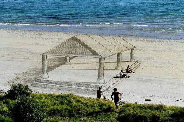 3D Strandkunst von Jamie Harkins