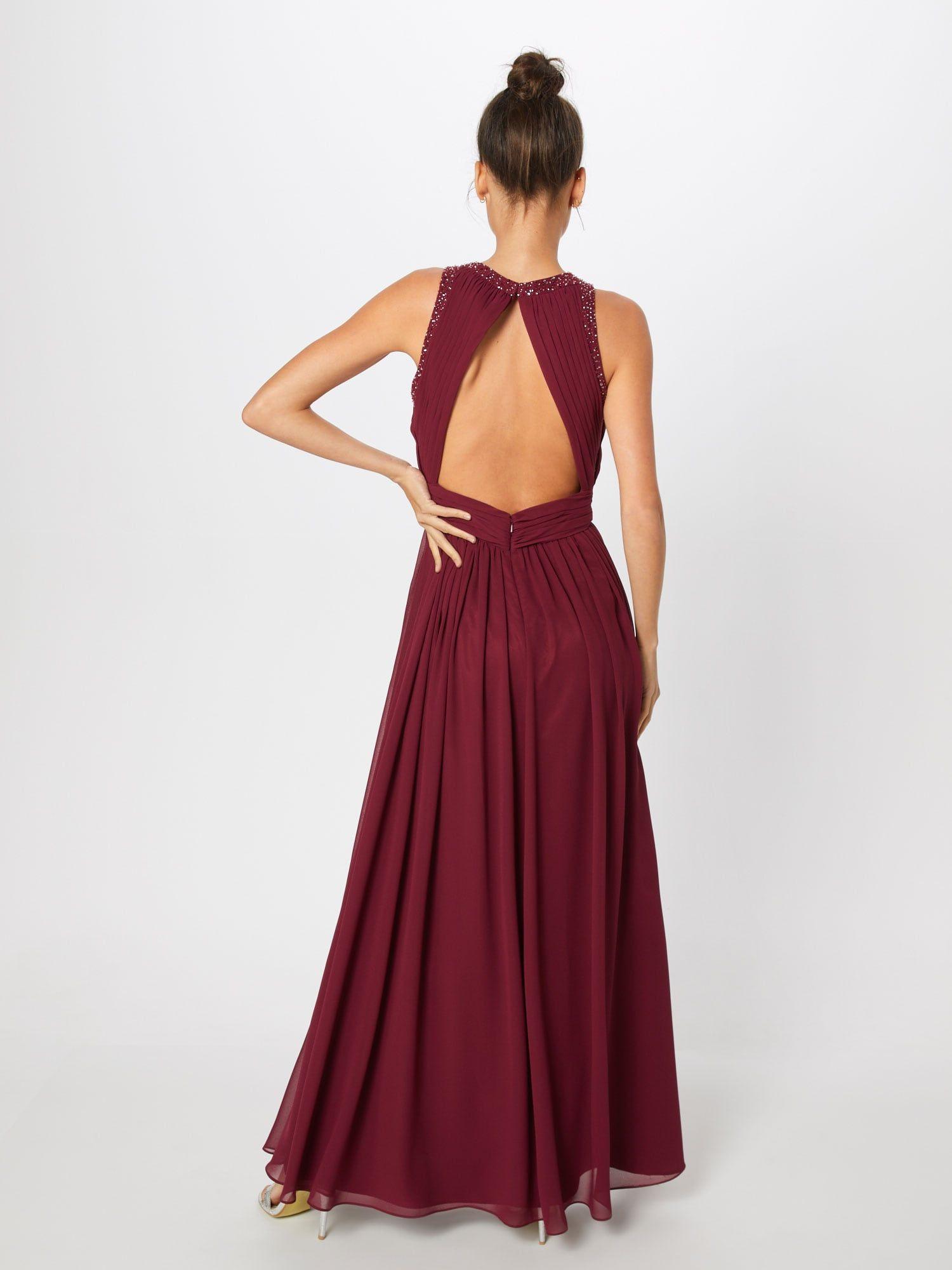 SWING Abendkleid Damen, Beere, Größe 12  Abendkleid, Kleider