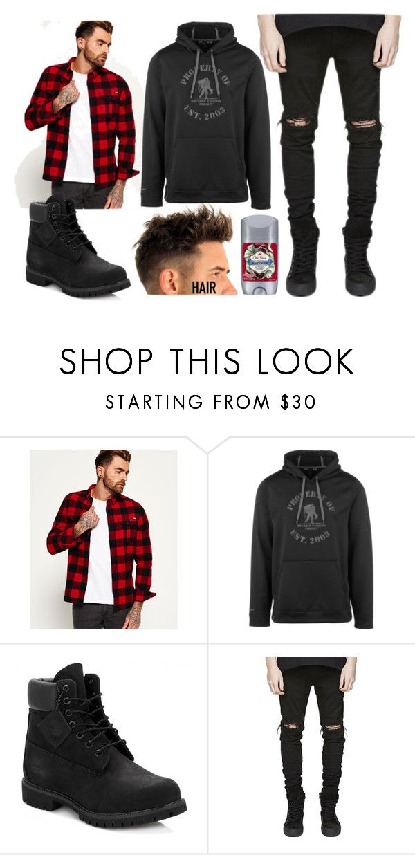 """""""No Title #128"""" by emily102901 ❤ liked on Polyvore featuring Superdry, Under Armour, Timberland, Old Spice, men's fashion and menswear"""