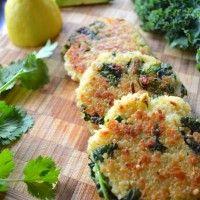 Tortitas de Kale y Quínoa :