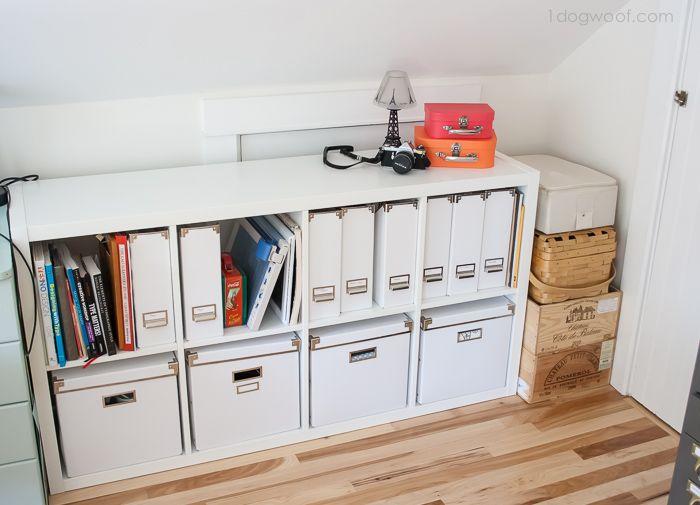 Attic Craft Room Reveal Ikea Kallax Ikea Kallax Shelf