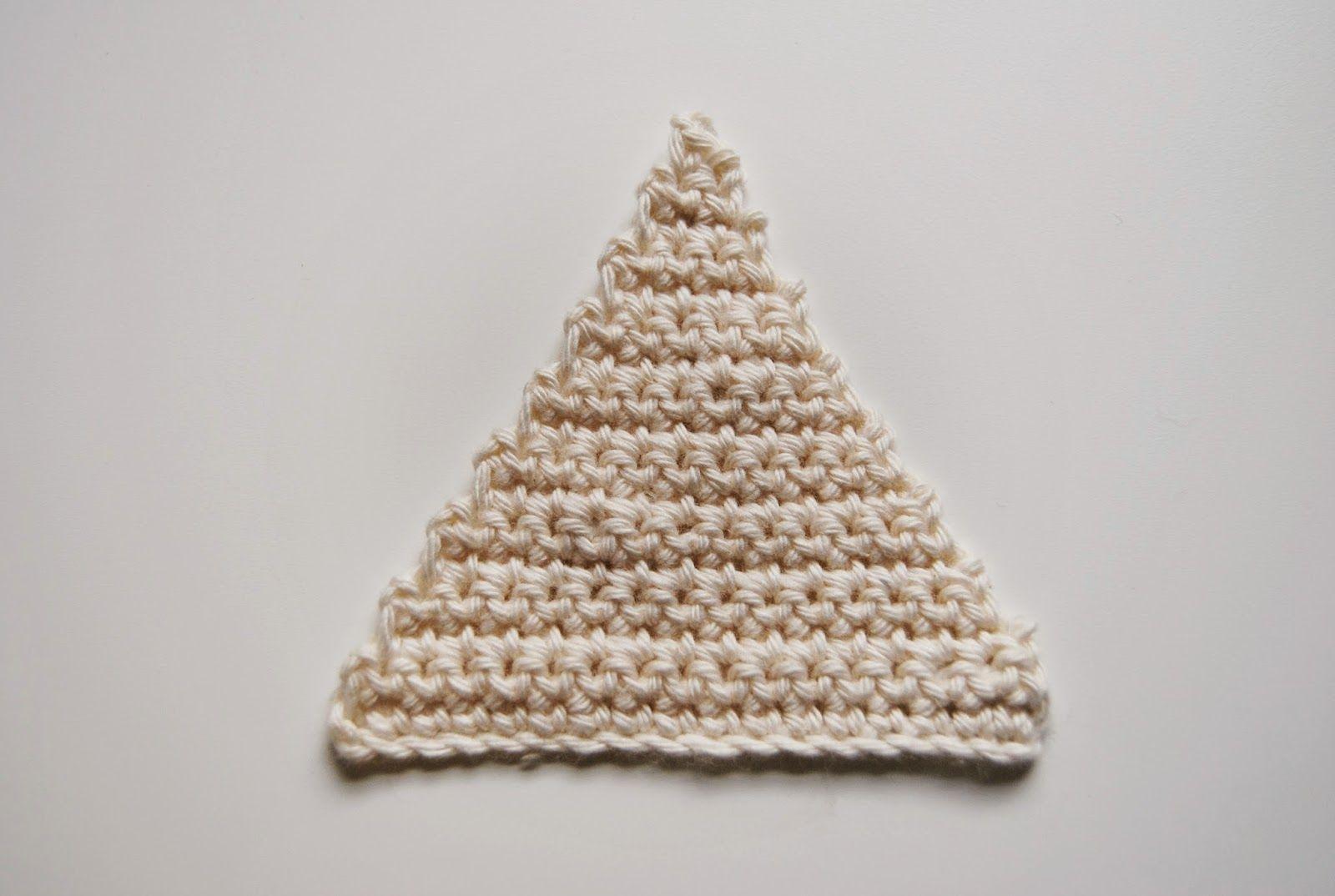 De Estraperlo: How to crochet triangles | Crochet :) | Pinterest