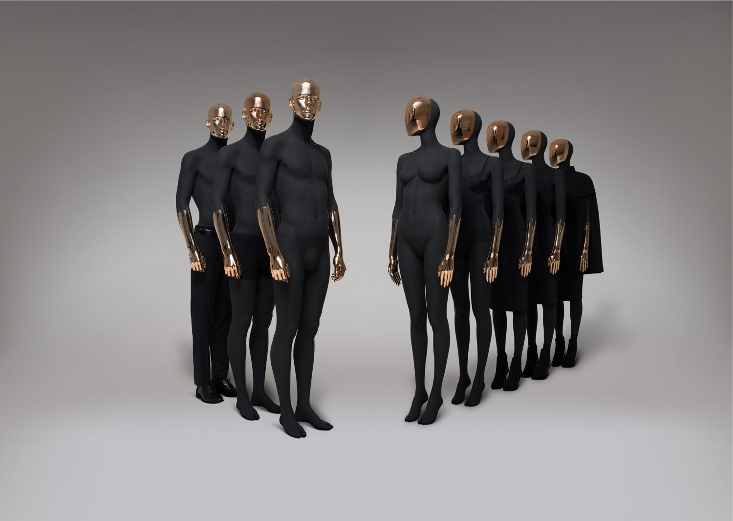 Ihram Kids For Sale Dubai: PARIS BLACK COPPER BY HANS BOODT MANNEQUINS