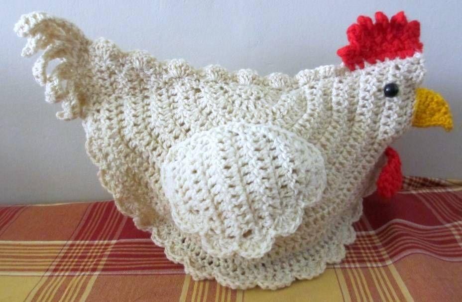 pollo de ganchillo | Ganchillo | Pinterest | Ganchillo, Gallinas y ...