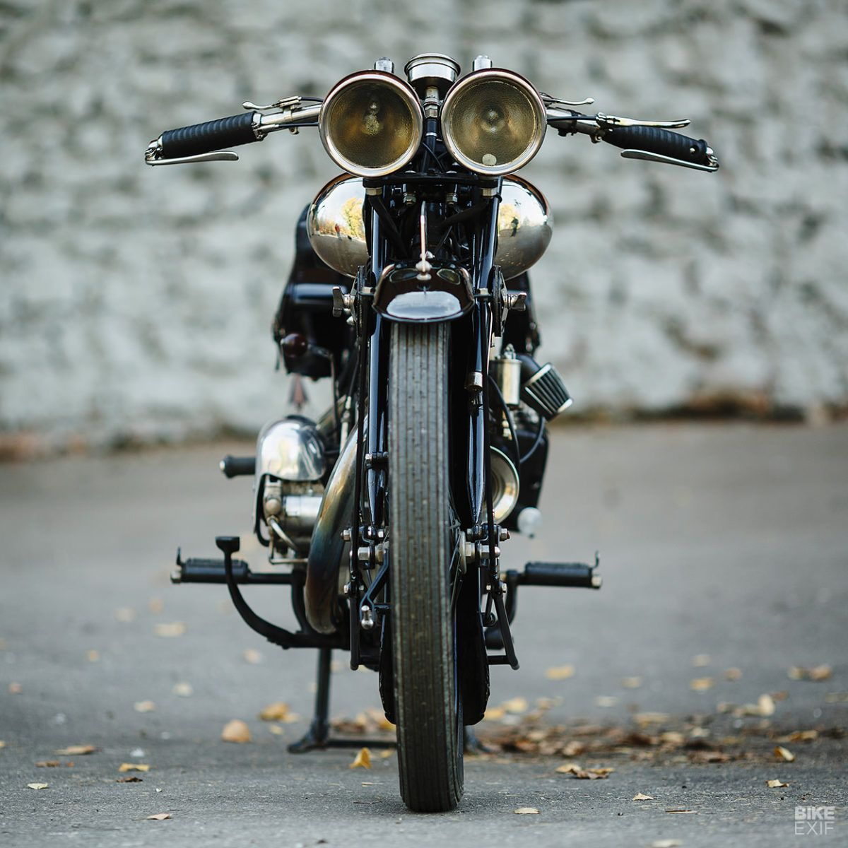 A Brough Superior Ss100 Surfaces In Deepest Russia Brough Bike Exif Vintage Motorcycles