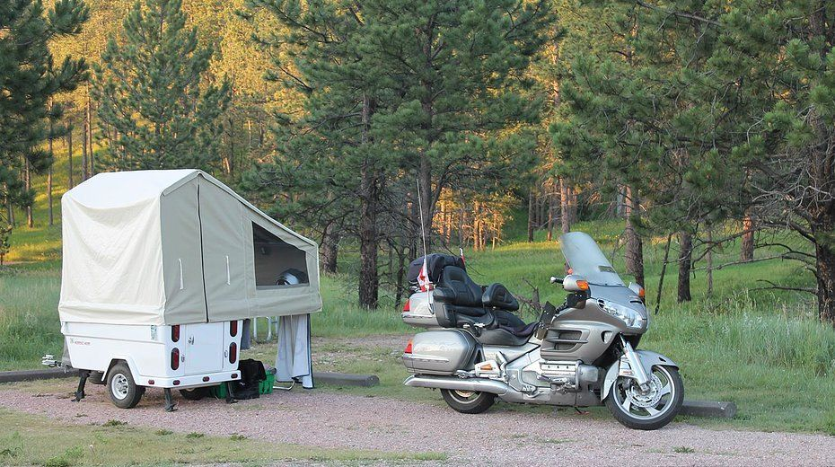 Motorcycle Camping Trailers Craigslist in Used Travel