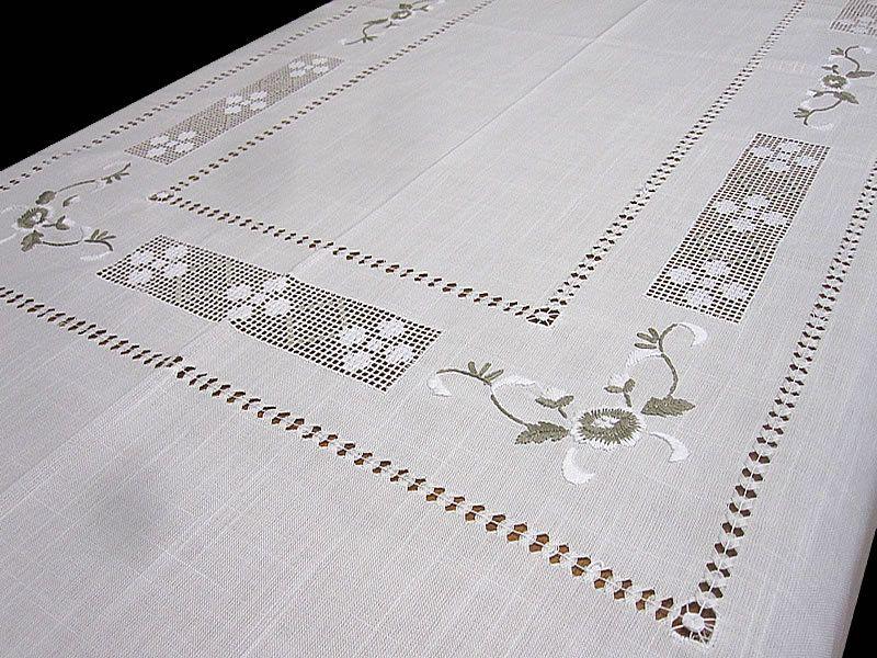 Imagenes de vainicas buscar con google labores de - Manteles de mesa bordados ...