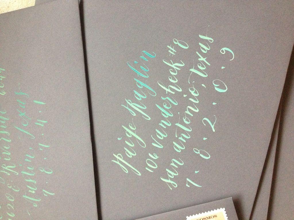 Calligraphy Carolyn Jane