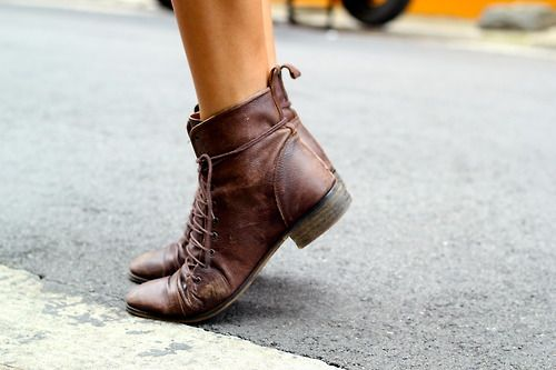 Leather Boots //