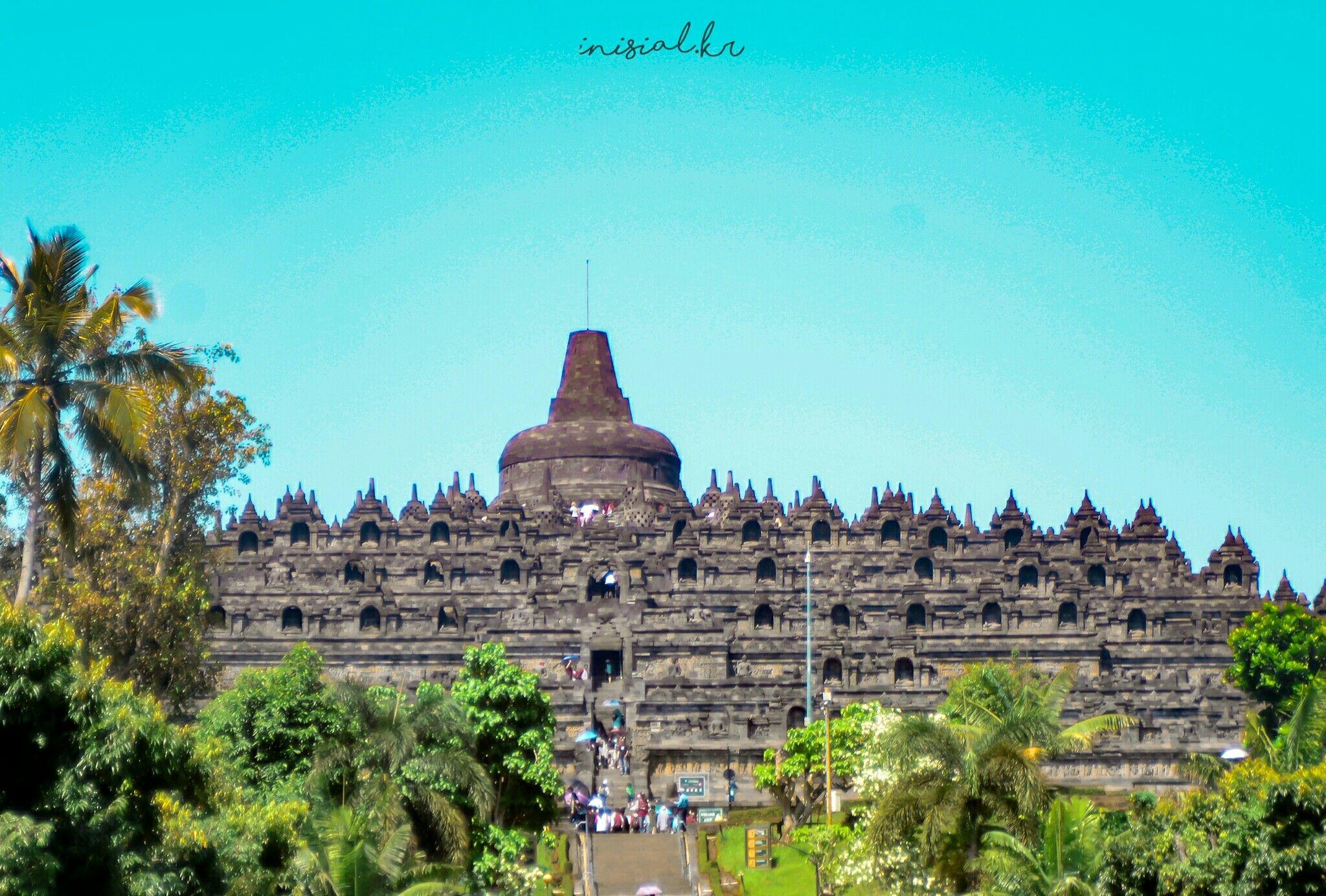 Landscape Candi Borobudur Fotografi Alam Indonesia Fotografi