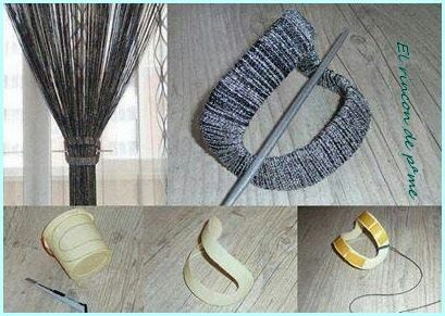 Broche para cortinas ( Reciclado )