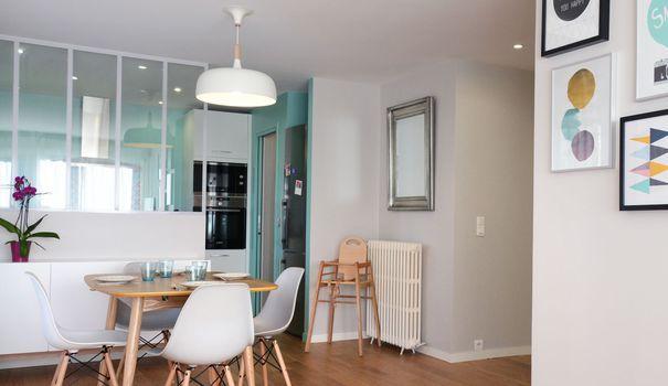 Avant après rénovation appartement : un 95m2 à Louveciennes ...