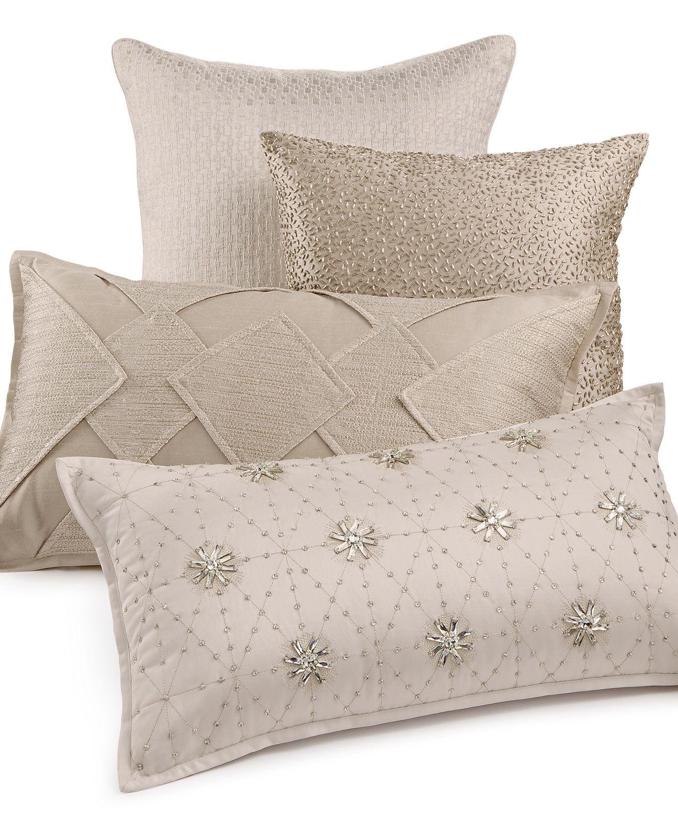 Hotel Collection Finest Sunburst Decorative Pillow