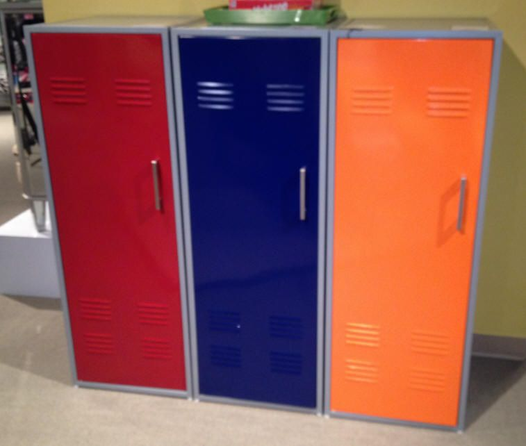 Chic Kids\' Lockers for Kids Room : Colorful Locker Storage At ...
