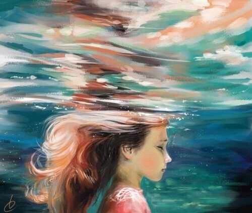 Image result for acrylic painting of girl