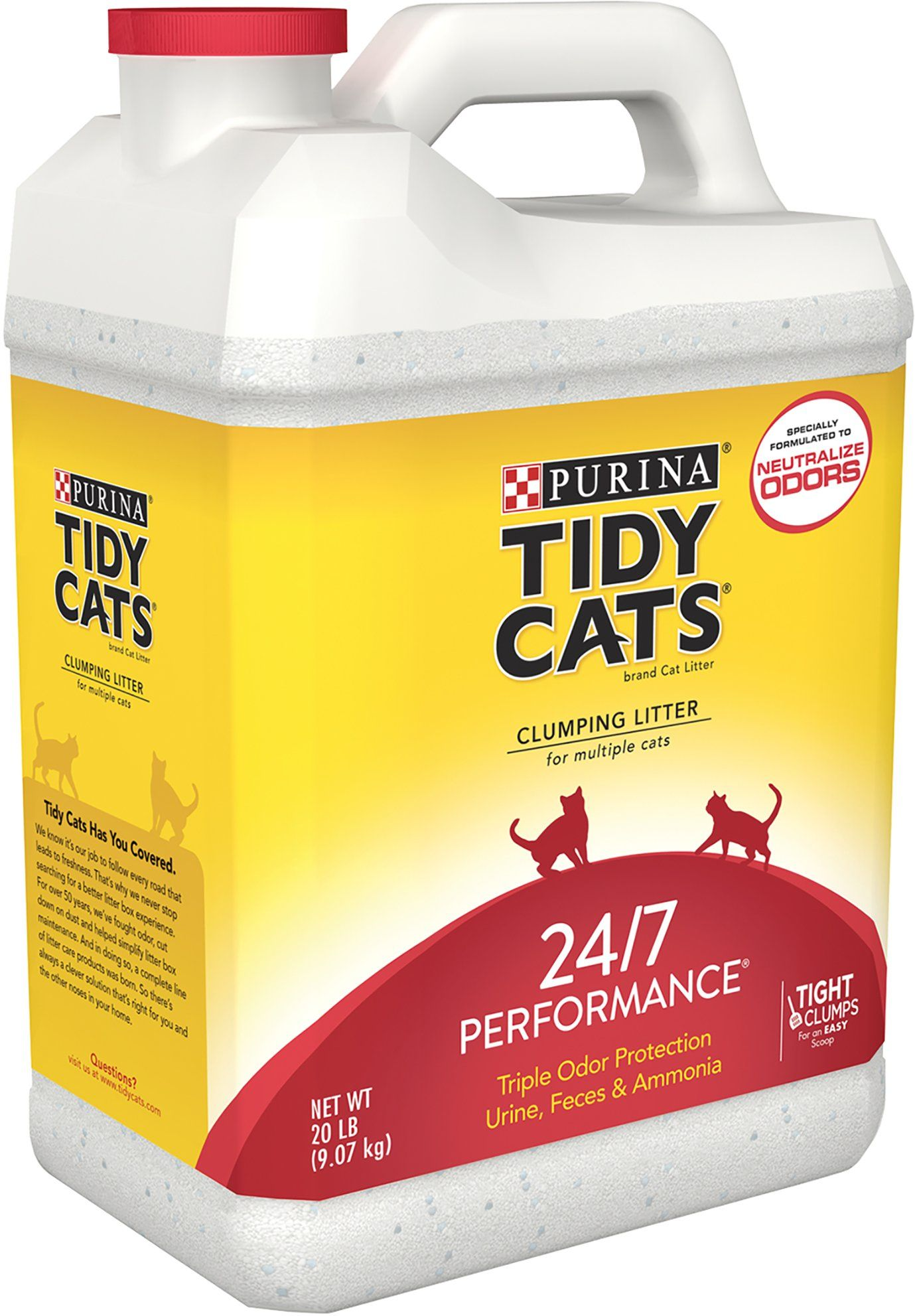 Purina Tidy Cats Clumping 24/7 Performance Multi Cat