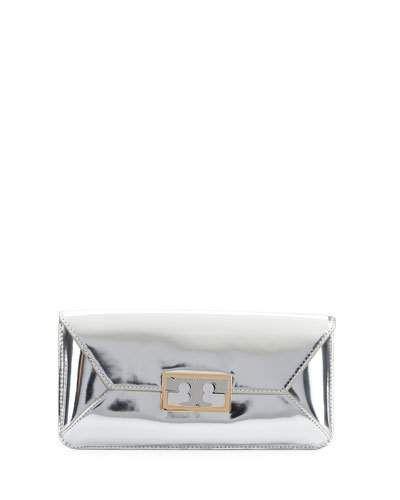 e55556244e7 Gigi Metallic Clutch Bag