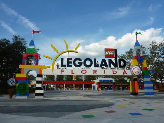 LEGOLAND Florida, in Winter Haven - a family park with bricks, coasters and more