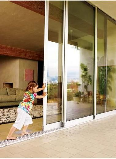 Dwell 2010 10 Bungalow Renovation Sliding Glass Door Glass Door