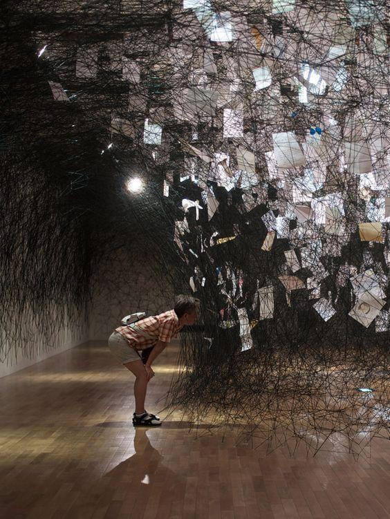 Sunday Visual Diary #20: Chiharu Shiota #artinstallation
