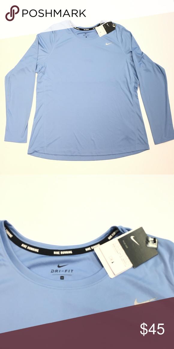 Nike Miler Sleeve Womens Long Training Shirt orCWdBxe