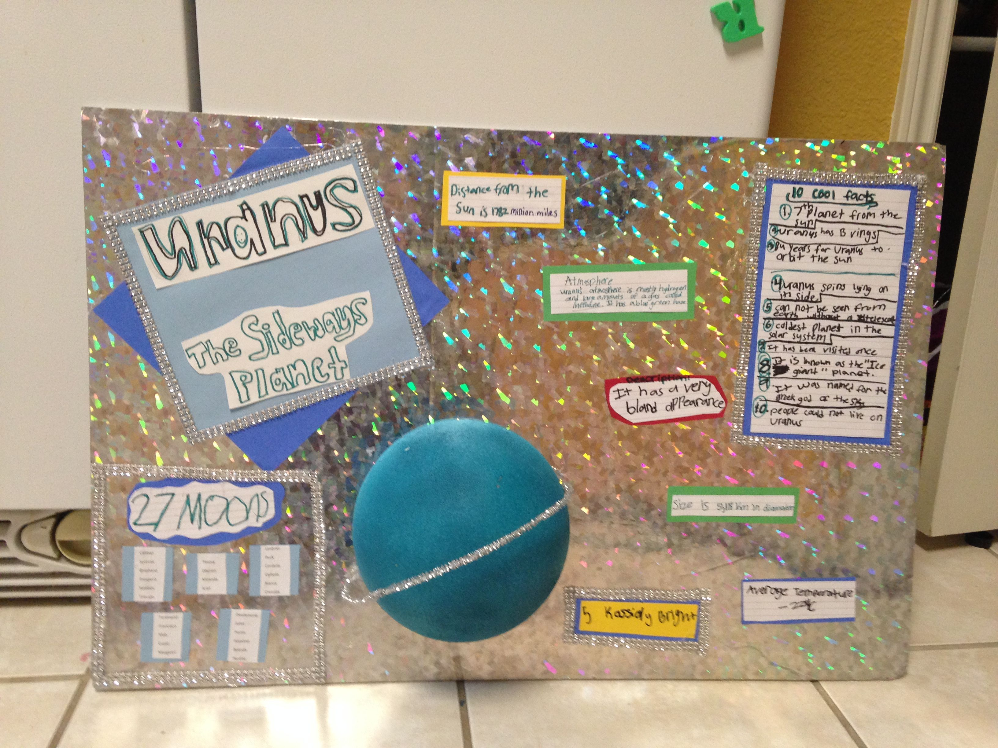 Projects on uranius Science Neptune project Uranus